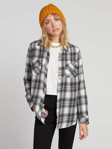 Volcom Getting Rad Women's Plaid Shirt - 88 Gear