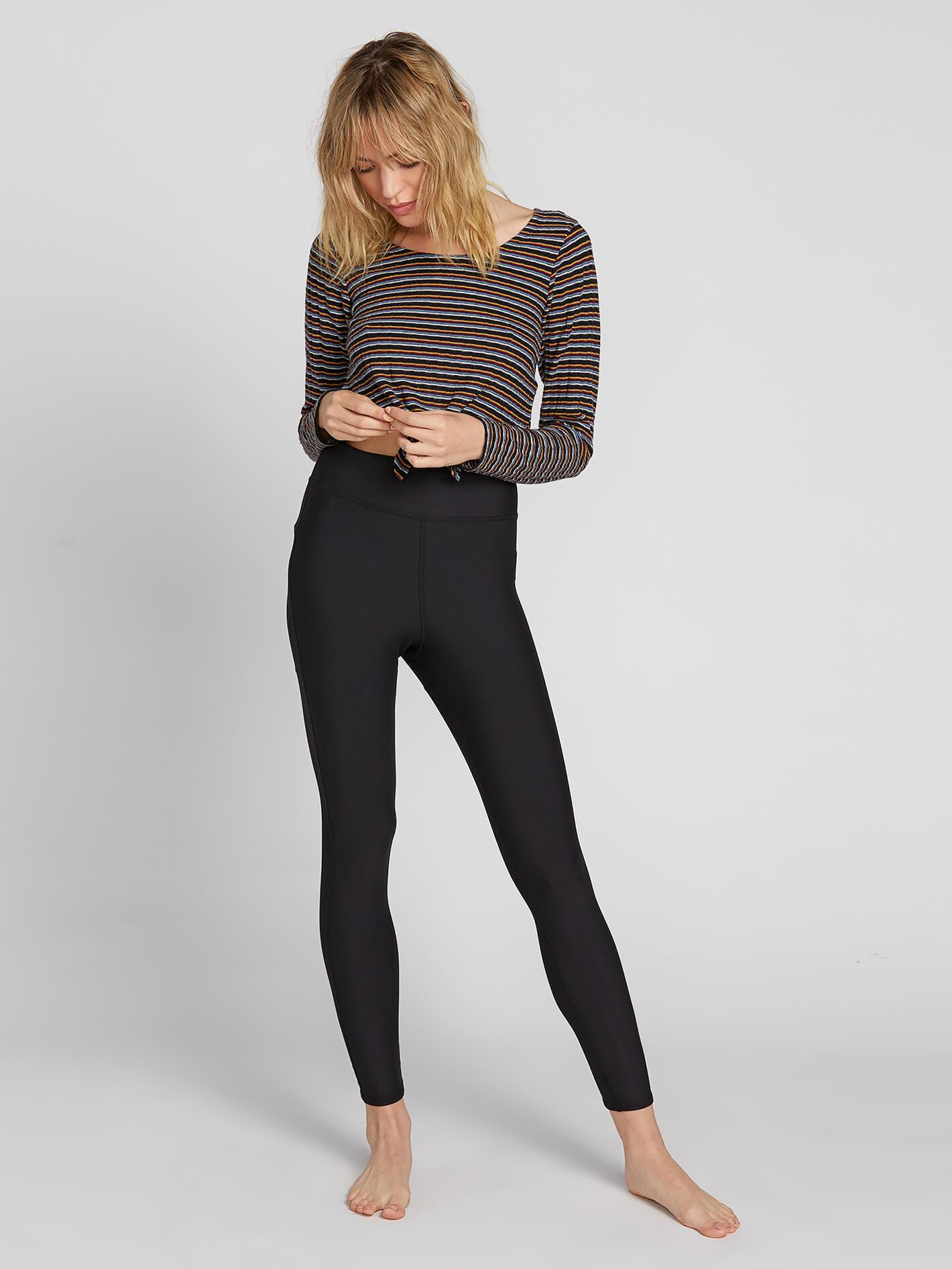 Volcom LiL Mesh Leggings - 88 Gear
