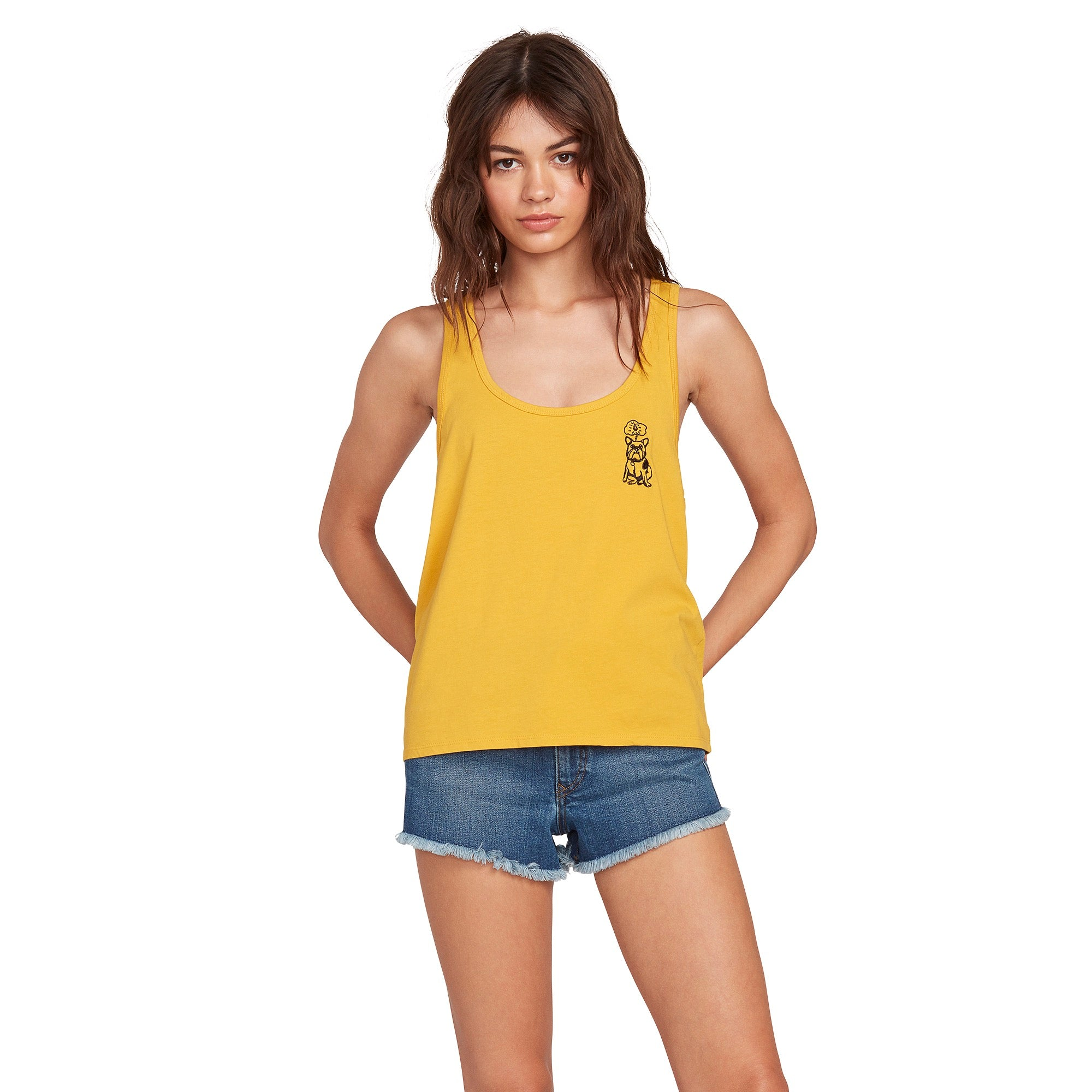 Volcom Palm Stone Breezin Tank Top - 88 Gear