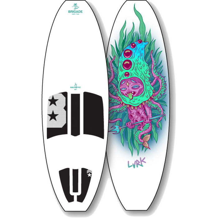 New Limited Edition Wakesurf Boards - Lurk Board from 88 Gear