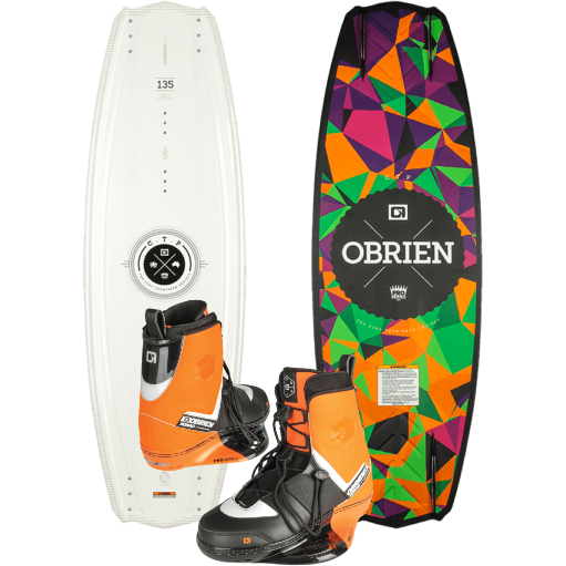 O'Brien CTP Wakeboard Package w/ Nomad Boots