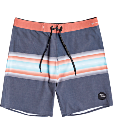 "Quiksilver Highline Six Channel 19"" Boardshorts"