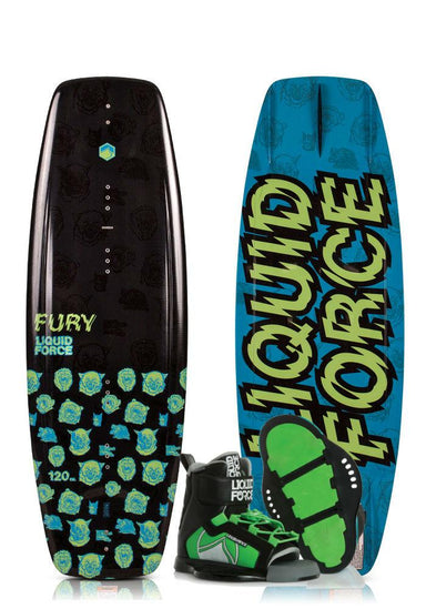 Liquid Force Fury Kids Wakeboard Package 2019