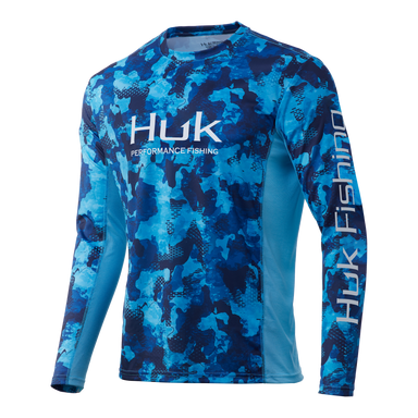 Huk Icon X Refraction Camo Long Sleeve