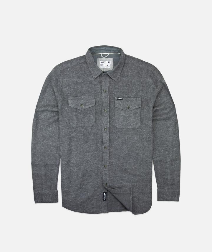 Jetty Solid Arbor Heavy Flannel - 88 Gear