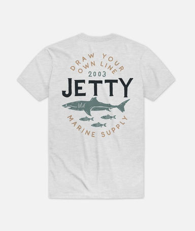 Jetty Chomped Tee Shirt - 88 Gear
