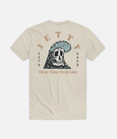 Jetty Grim Ripper Tee Shirt - 88 Gear