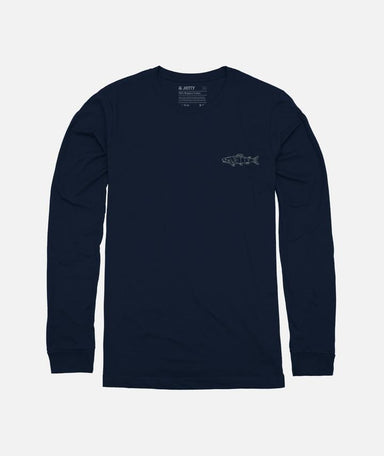 Jetty Linefish Long Sleeve Tee - 88 Gear