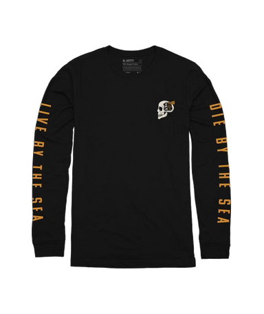 Jetty Skullhouse Long Sleeve Shirt - 88 Gear