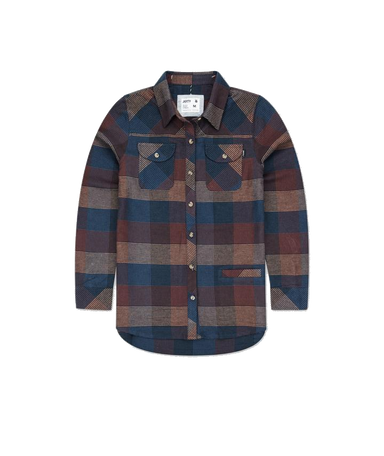 Jetty Womens Tellulah Flannel