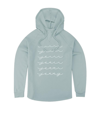 Jetty Whitecap Women's Hoodie - 88 Gear
