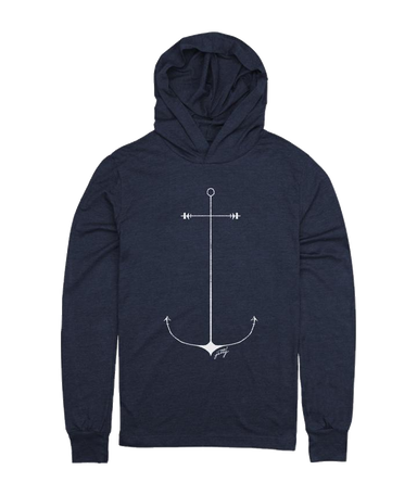 Jetty Anchor Women's  Hoodie - 88 Gear