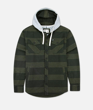Jetty Mayfly Hooded Flannel - 88 Gear