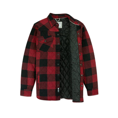 Jetty Quilted Flannel Jacket - 88 Gear