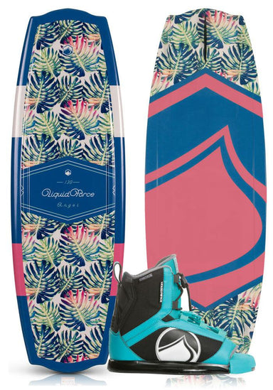Liquid Force Angel Women's Wakeboard Package 2019 - 88 Gear
