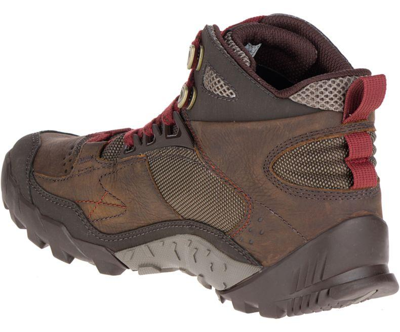 Merrell Men's Annex Trak Mid Waterproof Hiking Shoes