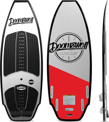 Doomswell Neo Red Wakesurf Board 2021 - 88 Gear