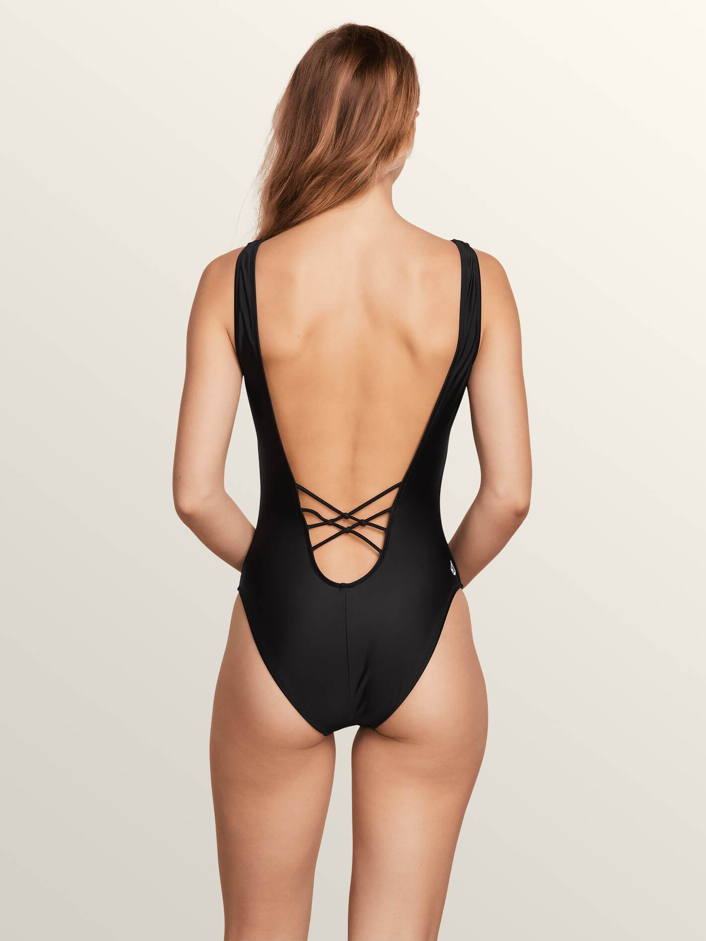 Volcom Simply Solid One Piece Swim - 88 Gear