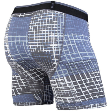 Bn3th Brooklynn Grid Men's Boxer Briefs - 88 Gear