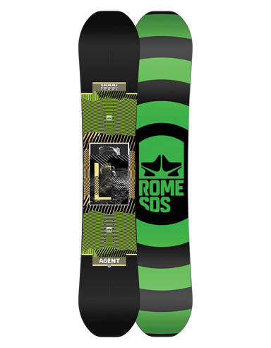 Rome Agent Snowboard 2020-2021 - 88 Gear