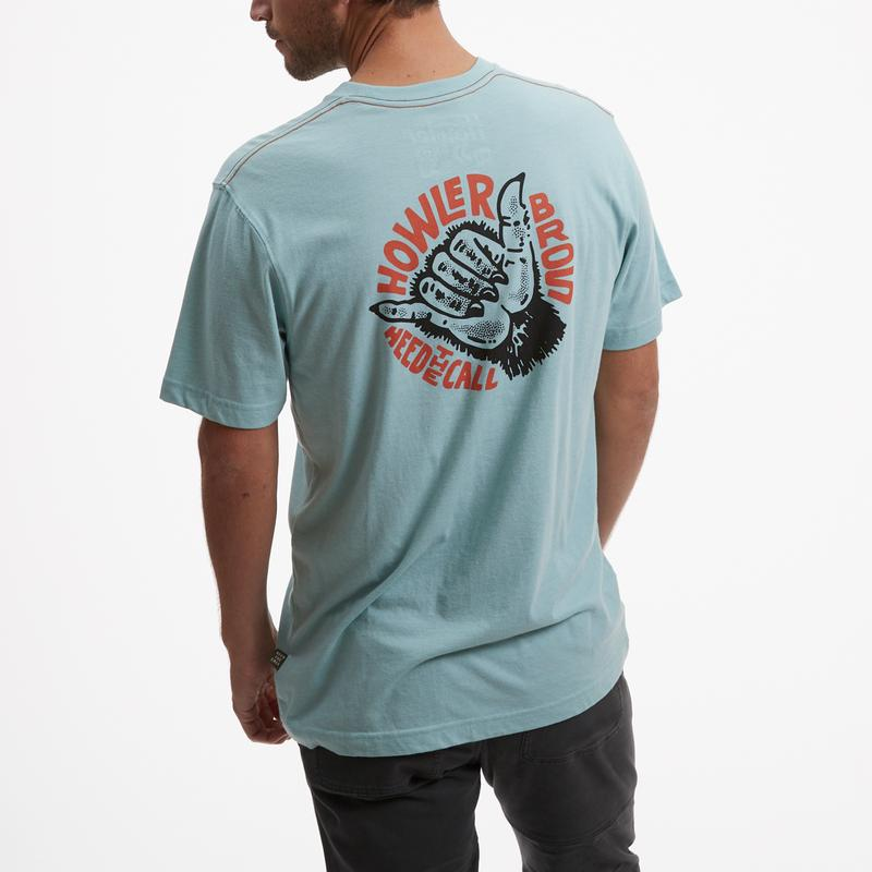 Howler Brothers Shaka The Monkey Pocket Tee - 88 Gear