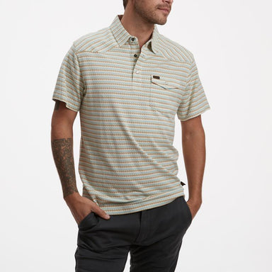 Howler Brothers Ranchero Jacquard Polo - 88 Gear