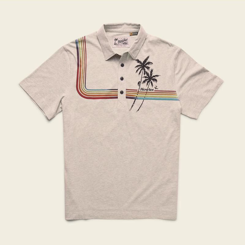 Howler Brothers Rookery Polo Shirt - 88 Gear