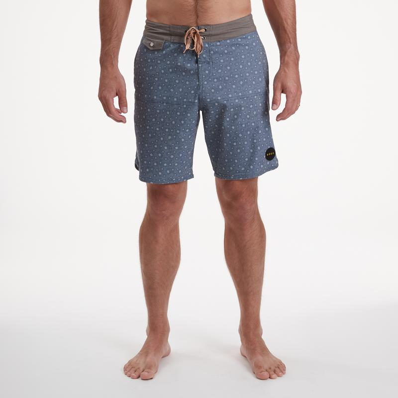 Howler Brothers Stretch Vaquero Little Agave Boardshorts - 88 Gear