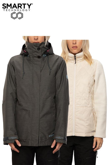 686 Spellbound Smarty 3-In-1 Women's Jacket - 88 Gear