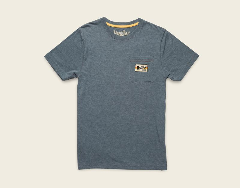 Howler Brothers Electric Stripe Pocket T-Shirt - 88 Gear