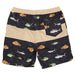 Salty Crew Fish Stamp Elastic Boardshorts - 88 Gear