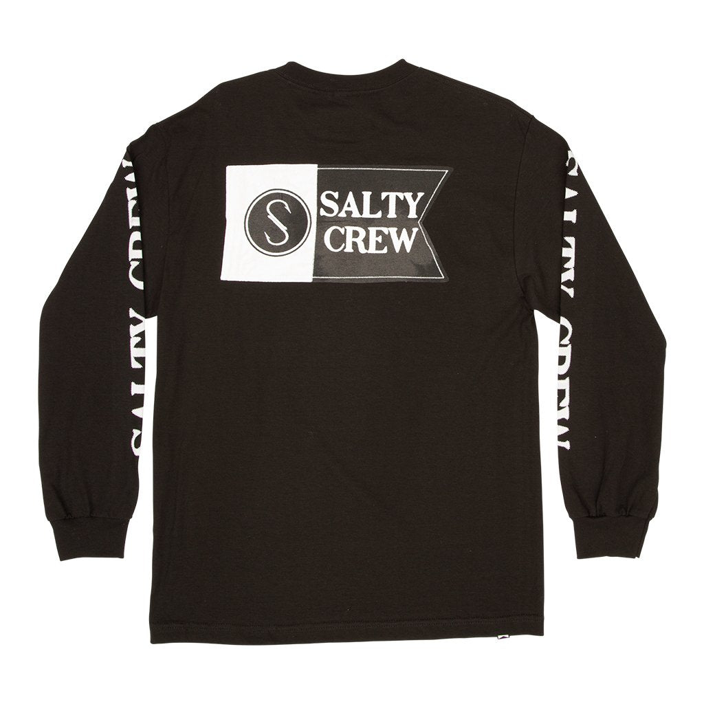 Salty Crew Patchwork Long Sleeve Tee - 88 Gear
