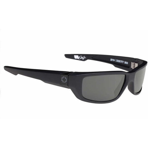 Spy Dirty Mo Sunglasses Matte Black Dale Earnhardt Jr. Signature Polarized