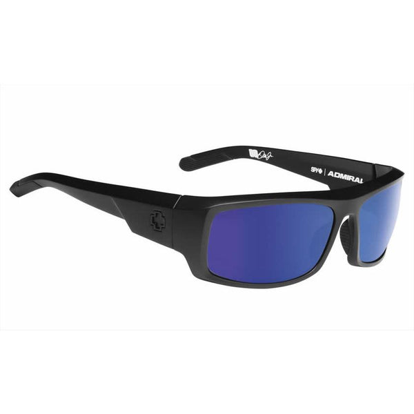 Spy Admiral Sunglasses Matte Black Frame with Happy Lens Technology