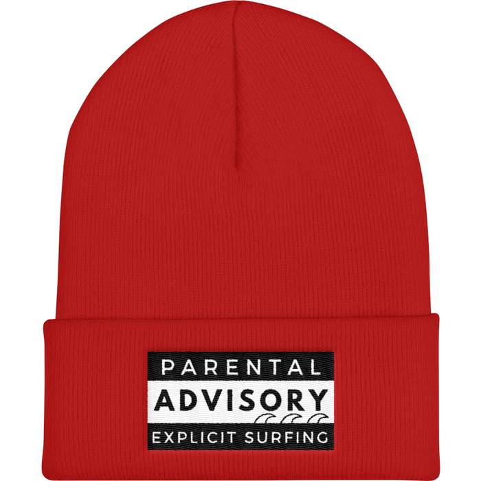 Beanie - Surfing Life Is Explicit Cuffed Beanie