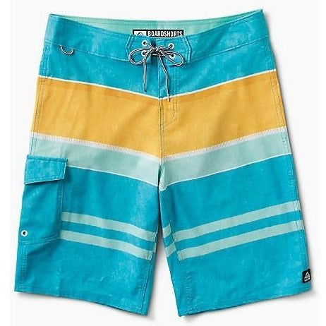 Boardshorts - Reef Layered Men's Boardshorts - Aqua