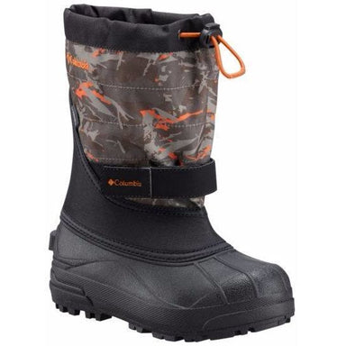 Columbia Youth Powderbug Plus II Print Boots - 88 Gear