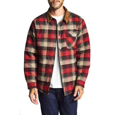 Brixton Plaid Cass Jacket - 88 Gear