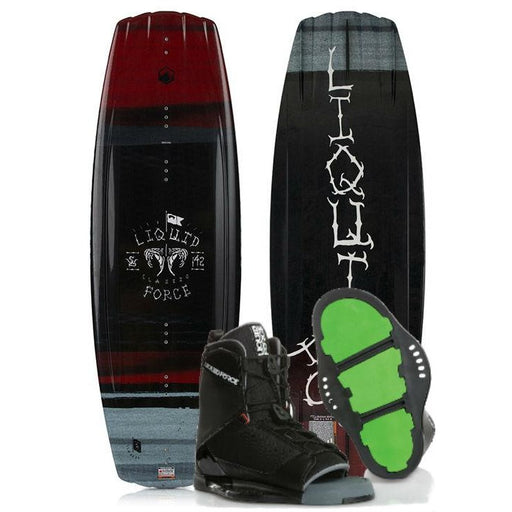 Liquid Force Classic Wakeboard Package with Transit Bindings