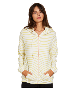 Volcom Lived In Zip Hooded Fleece -tropic