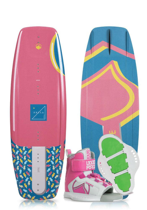 Liquid Force Kid's Dream Wakeboard Package 2019