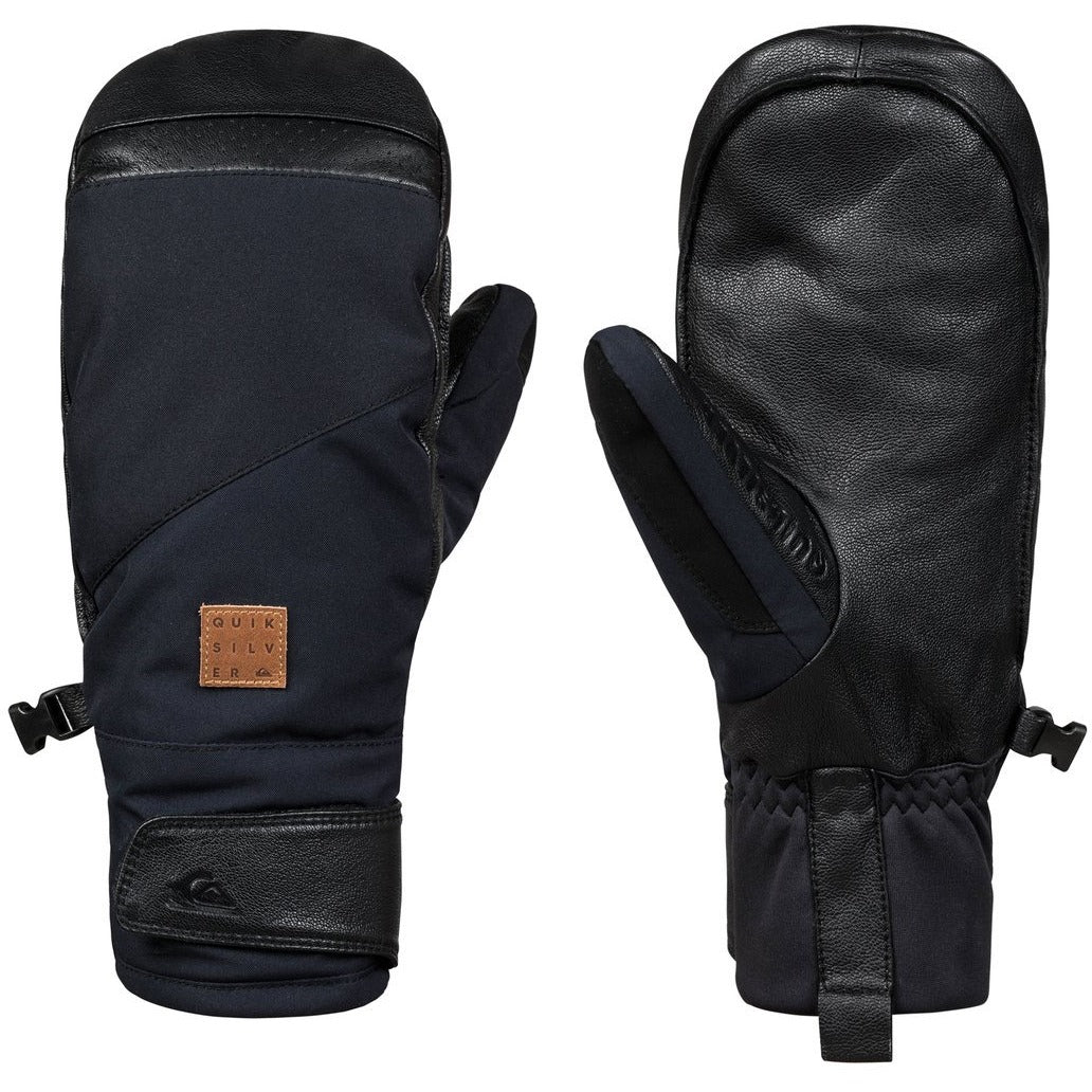 Quiksilver Men's Squad Snowboard Mittens - 88 Gear