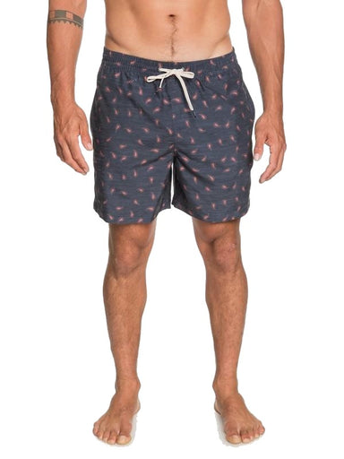 "Quiksilver Threads and Fins 17 "" Volley Shorts"