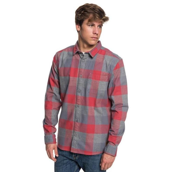 Quiksilver Men's Stretch Flannel Shirt - 88 Gear