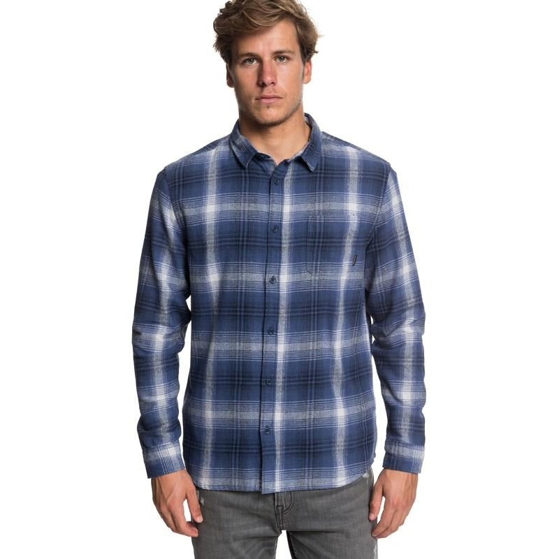 Quiksilver Men's Fatherfly Flannel Shirt - 88 Gear