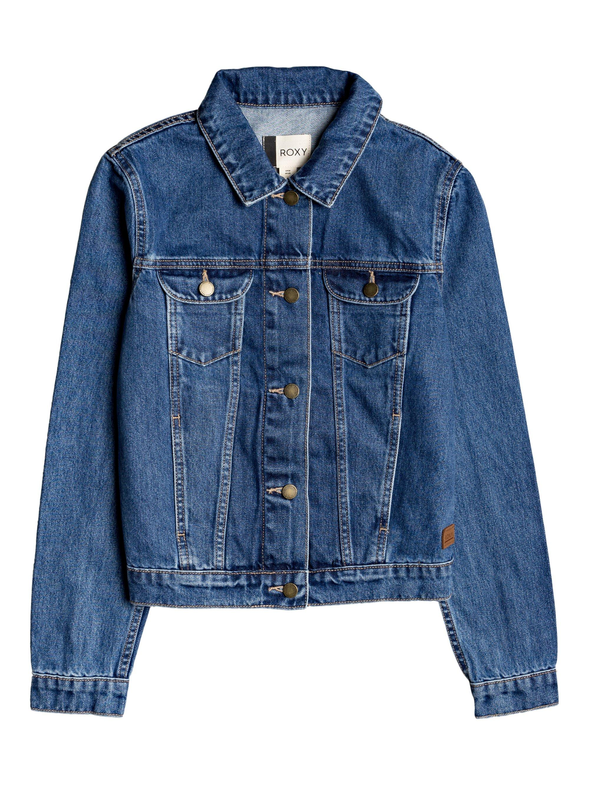 Roxy Tiger Eyes Denim Jacket - 88 Gear