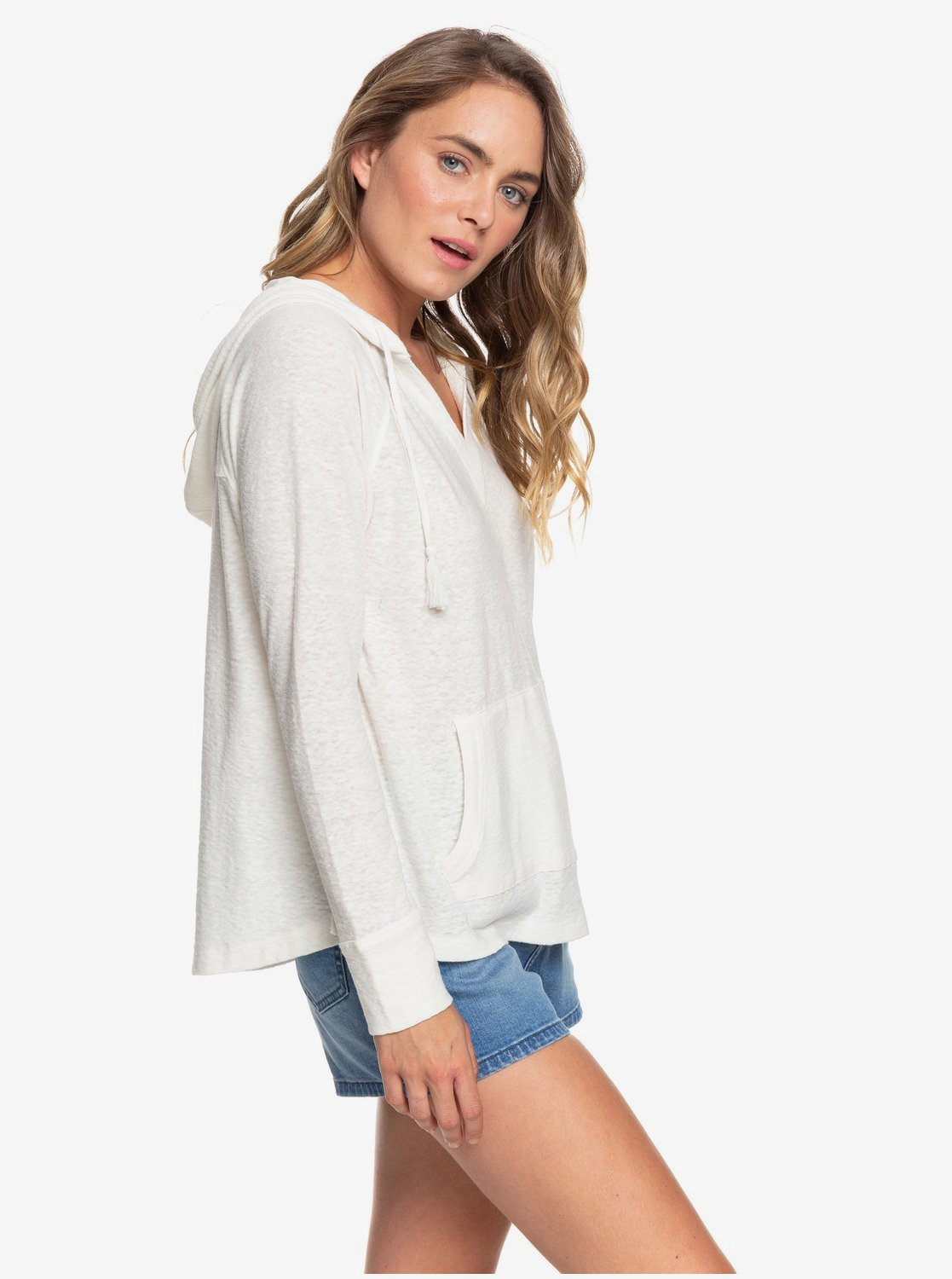 Roxy Long Night Hooded Women's Top - 88 Gear