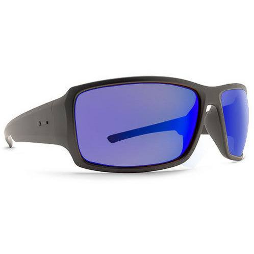 Dot Dash Exxellerator Soft Charcoal with Blue Lens