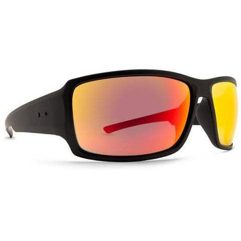 Dot Dash Exxellerator Sunglasses Black with Chrome Lens