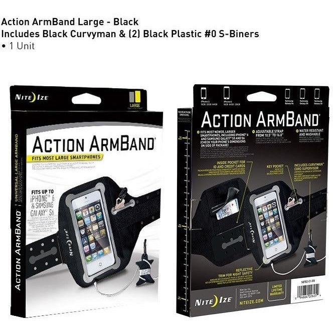 Nite Ize Action Armband for iPhone 6&6S / Samsung S6 - 88 Gear